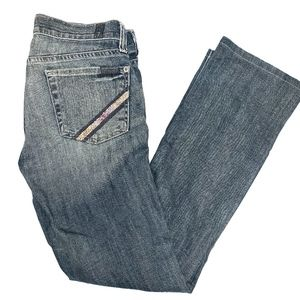 7 for all mankind straight leg jean size25